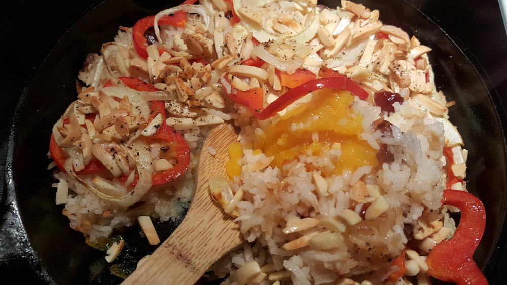 Mango Skillet Rice Dinner