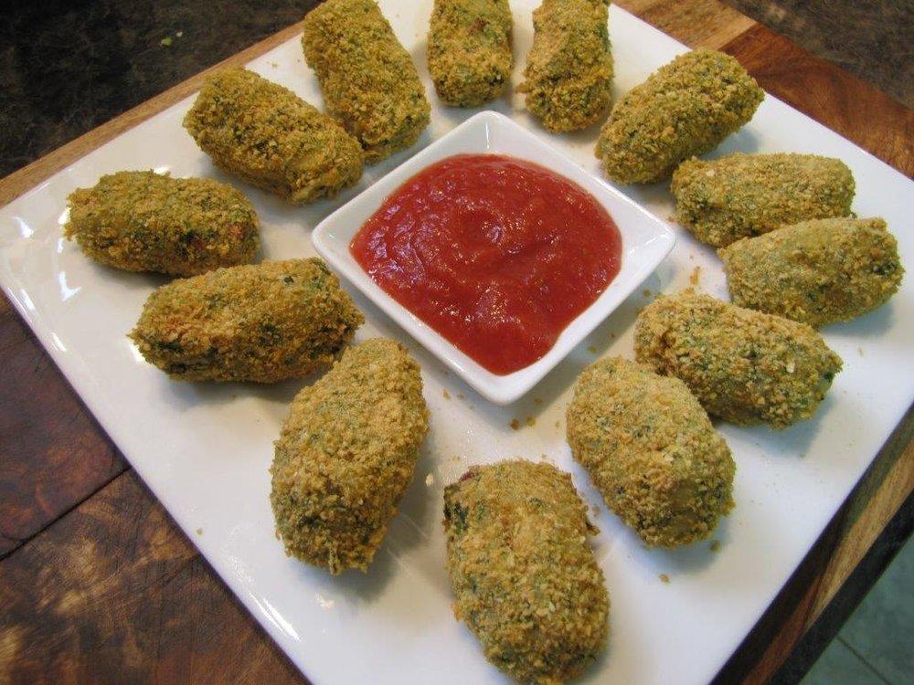 Broccoli & Cheddar Croquettes