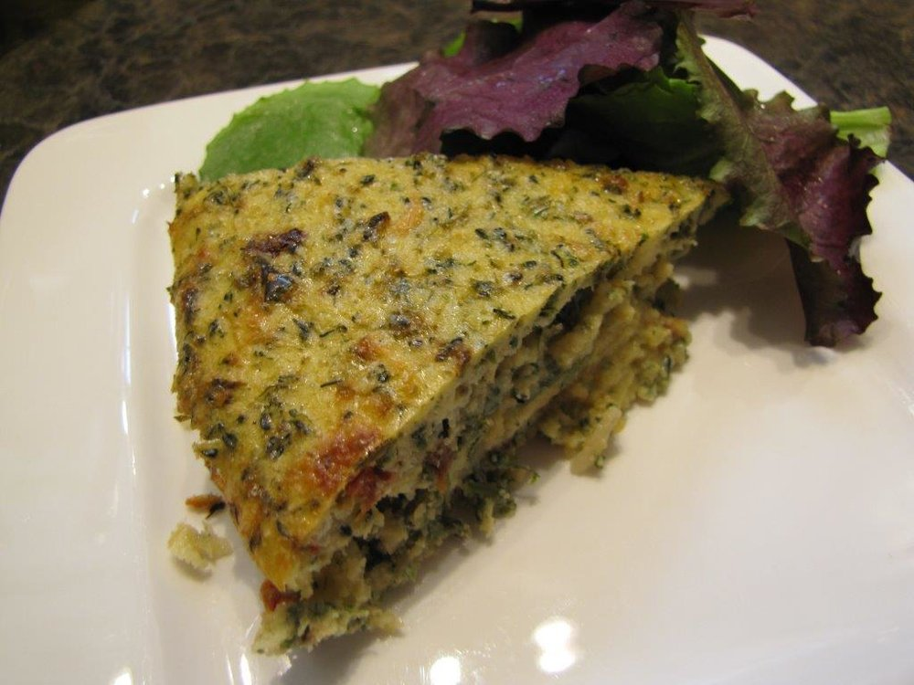 Broccoli & Potato Frittata