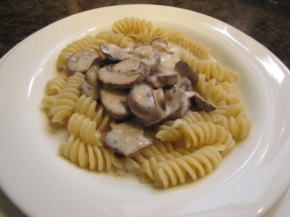 Mushroom Stroganoff
