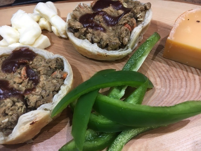 Meatless Tortiere Cups