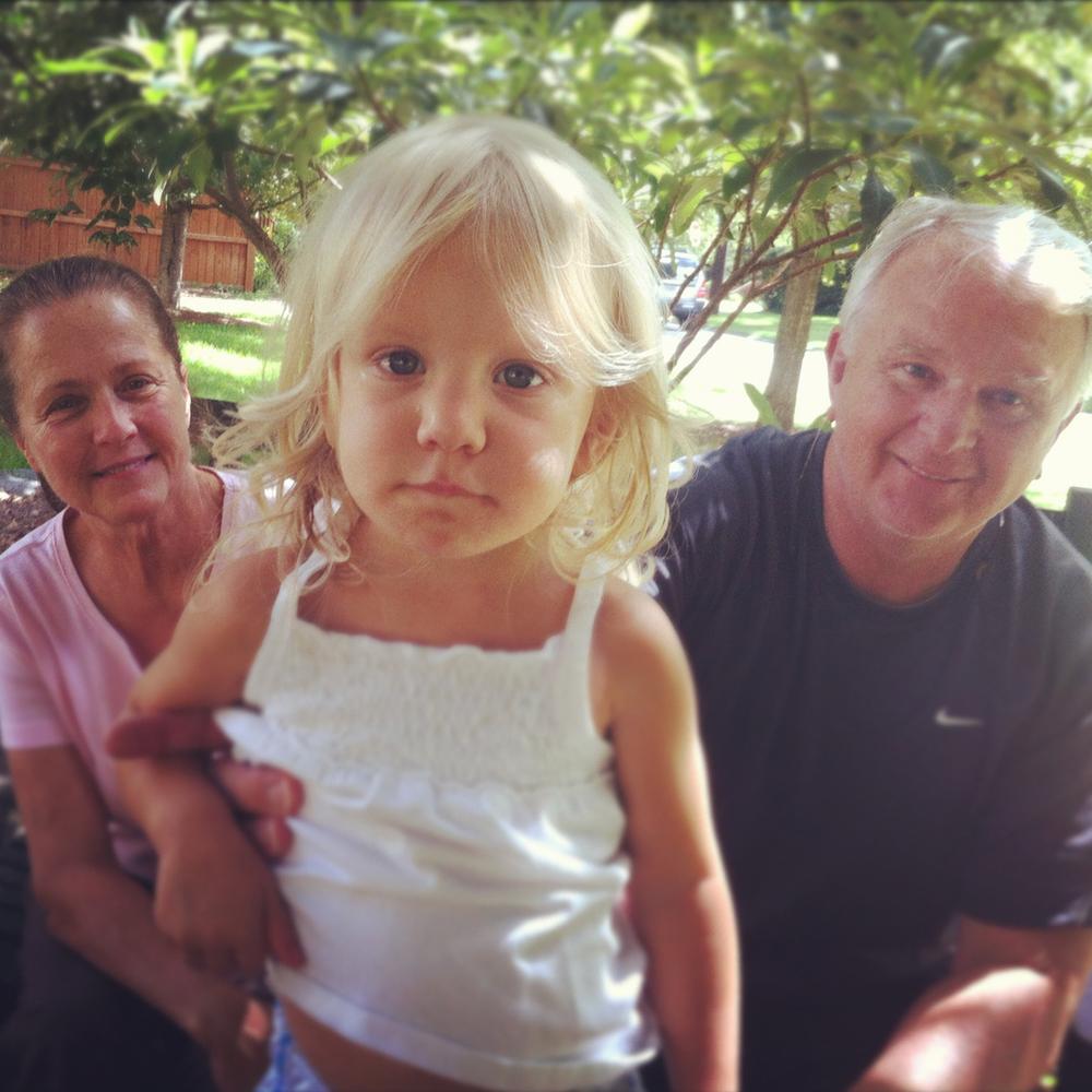 Pops and Grandmama visit Charlie.