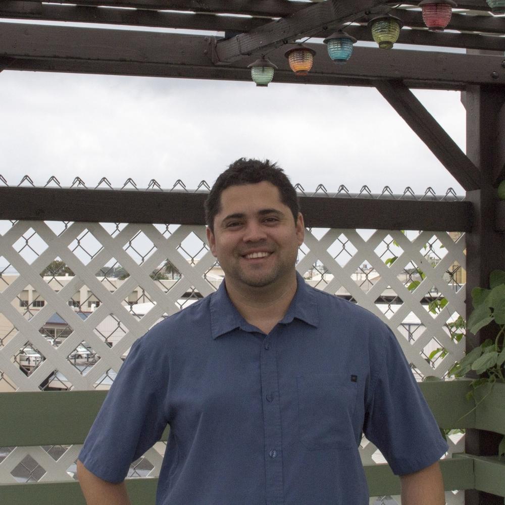 Kimo Cravalho, on the rooftop gardens @ IHS