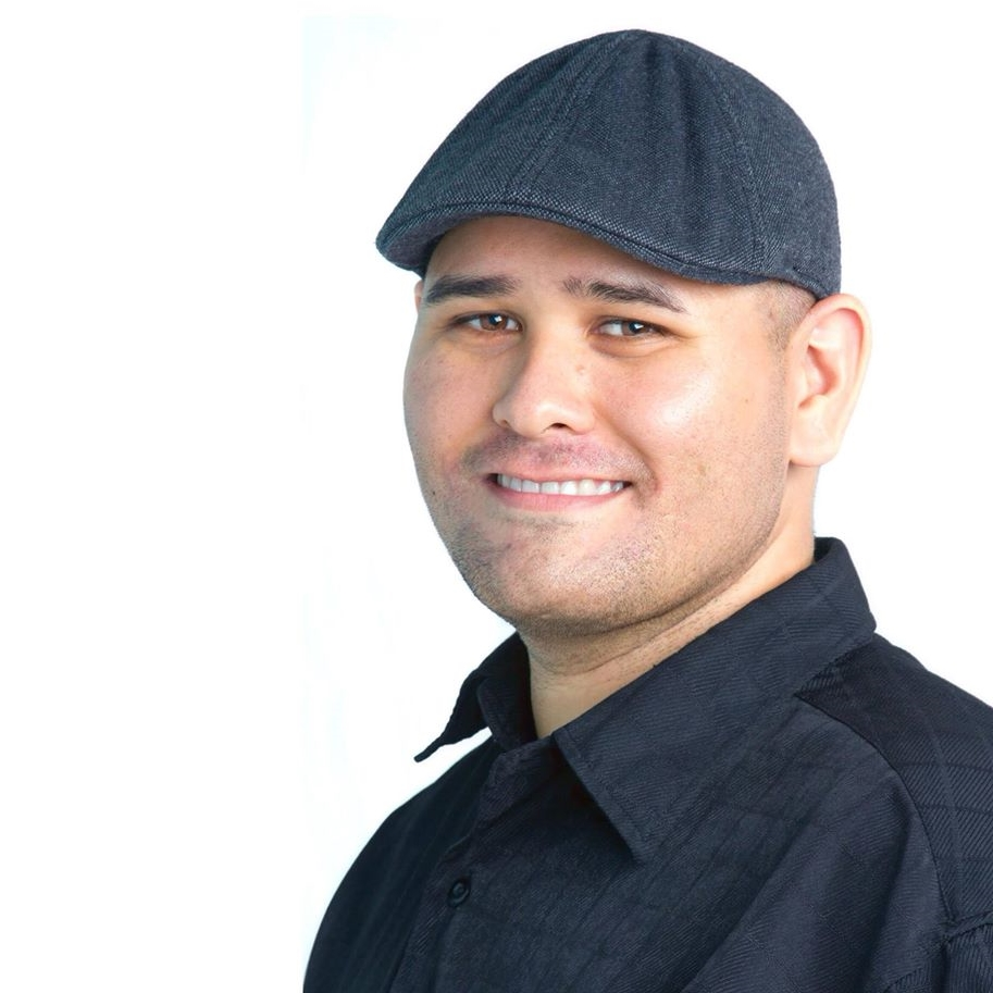 John Garcia and his signature hat