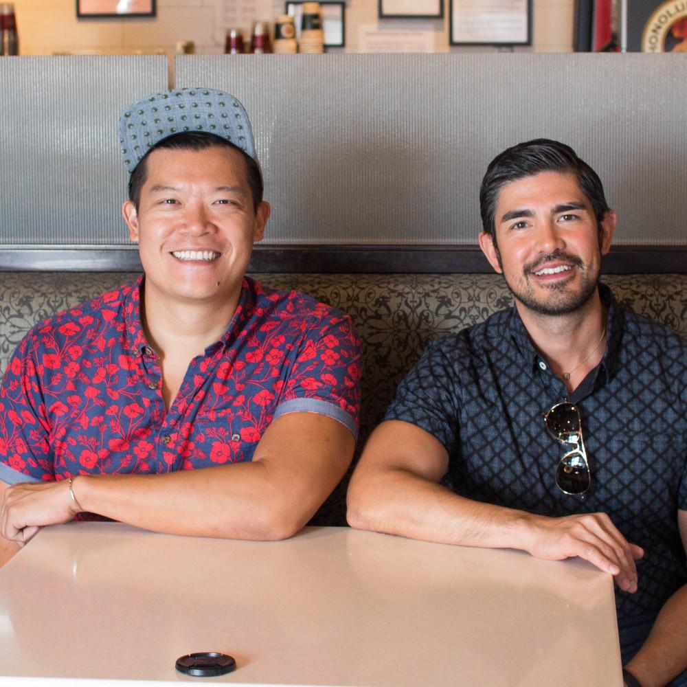 fresh BOX cofounders Will Chen(L) and Jed Inductivo(R)