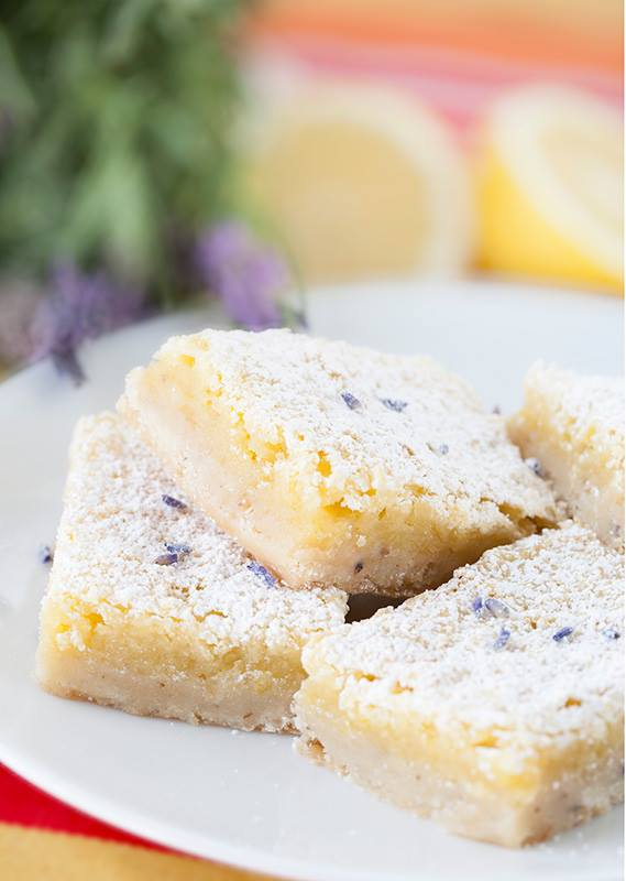 Lavender Lemon Bar