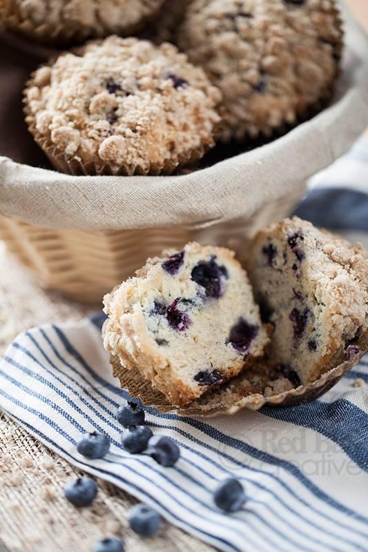 Lemon Blueberry Muffin