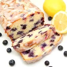 Lemon Blueberry Pound Cake Loaf