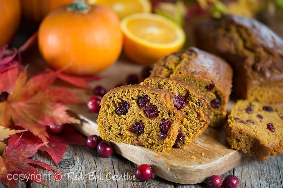 Cranberry Orange Pumpkin Bread