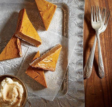 Pumpkin Pie Bar