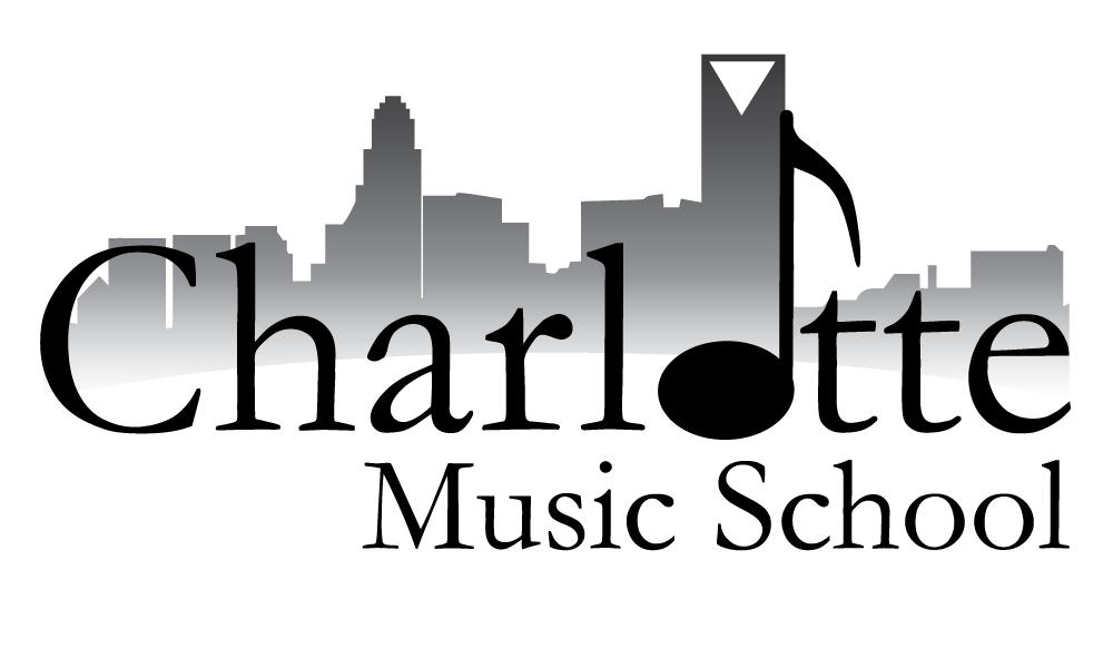 Charlotte Music School , Logo Design 2014