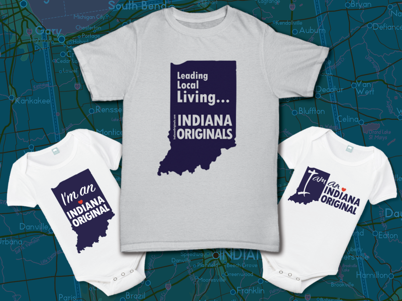 Swag designed for Indiana Originals, Indianapolis, IN USA