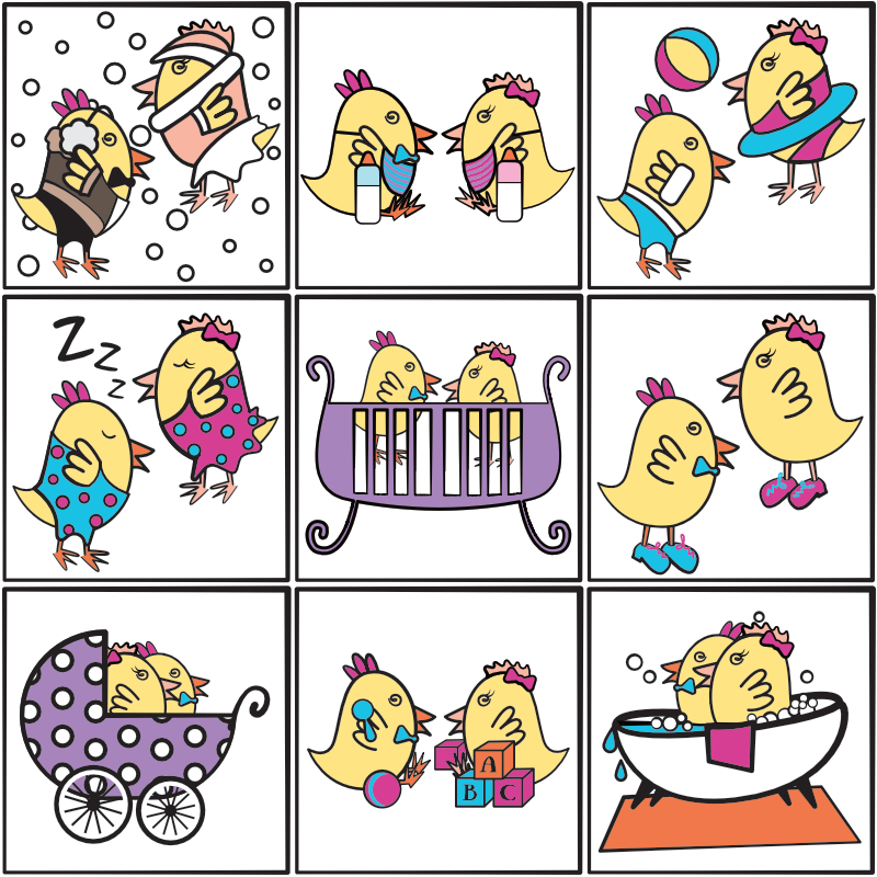Twin Baby Bargains Icons