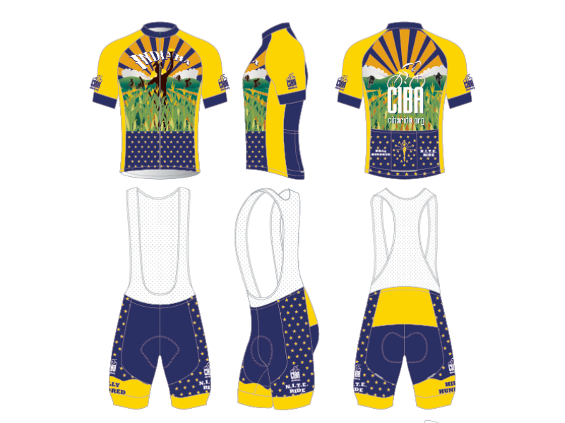 Cycling Kit Design - for CIBA