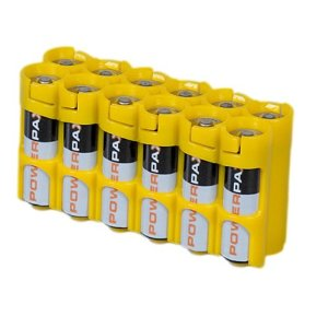 Storacell by Powerpax AA Pack Battery Caddy