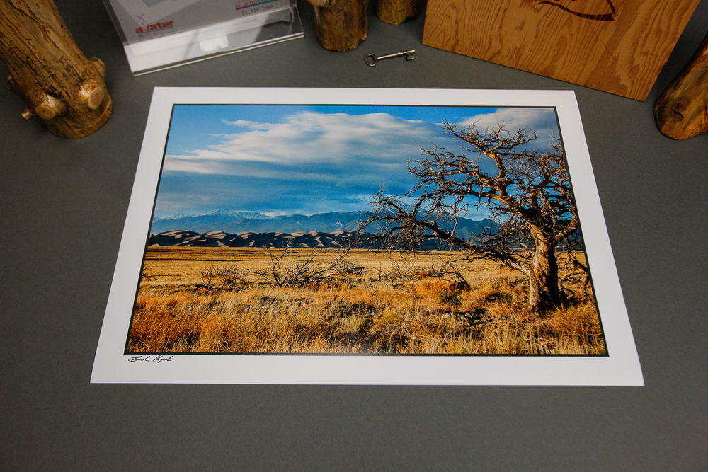 "Week 19 winner of ""Sangre Cristo Mountains & Tree"" - Michael from OR!"
