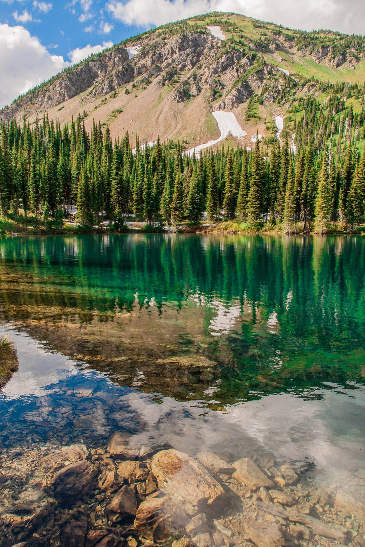 "Week 22 winner of ""Twin Lake Reflection"" - Carol from OH @carolflaherty"