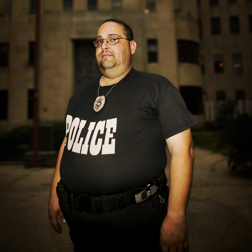 Corporal BE Blache, Charity Hospital Police, New Orleans
