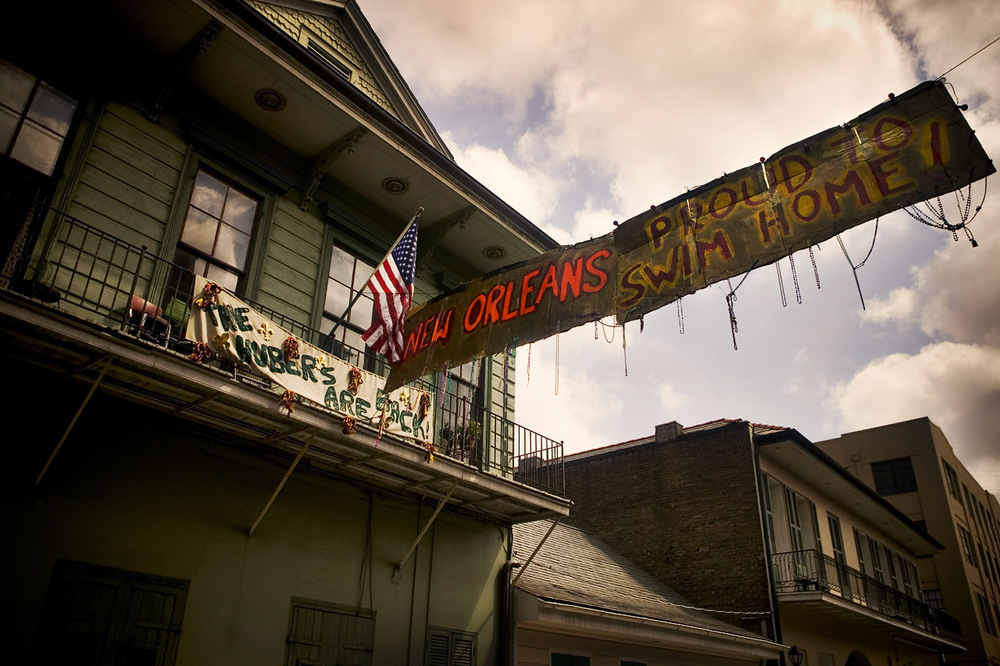 Proud To Swim Home!, French Quarter, New Orleans