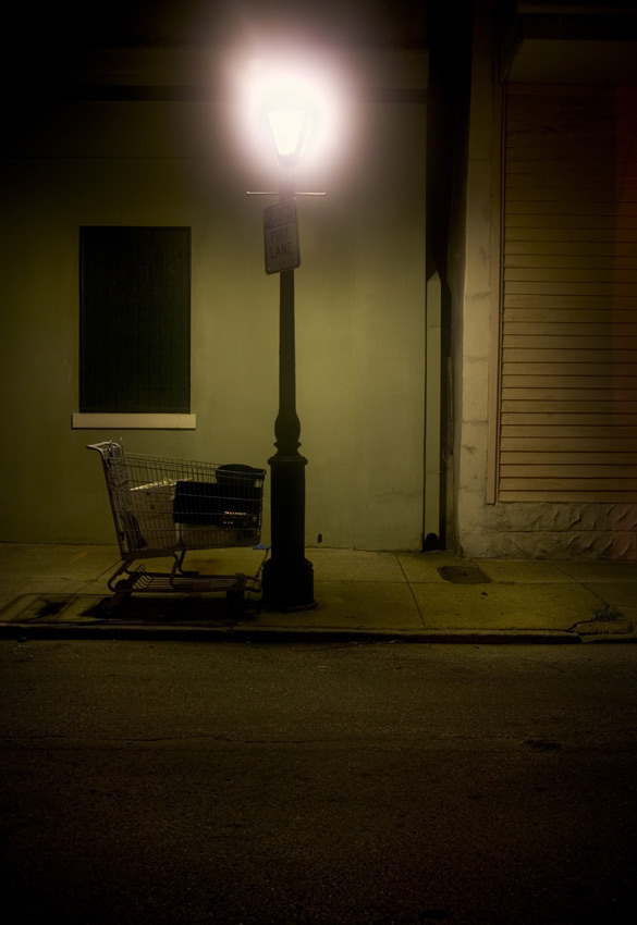 Ursulines Street, 4am, French Quarter, New Orleans