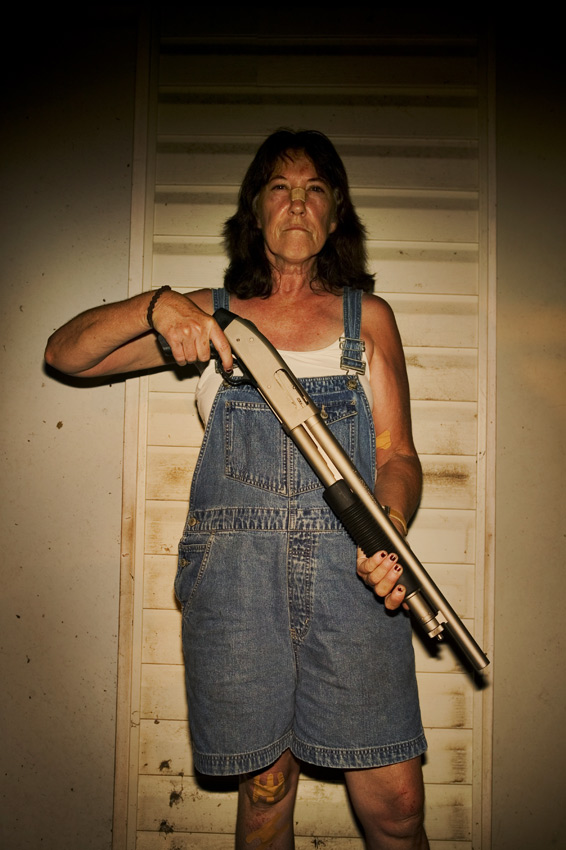 Mom with the Mossberg, Slidell, Louisiana