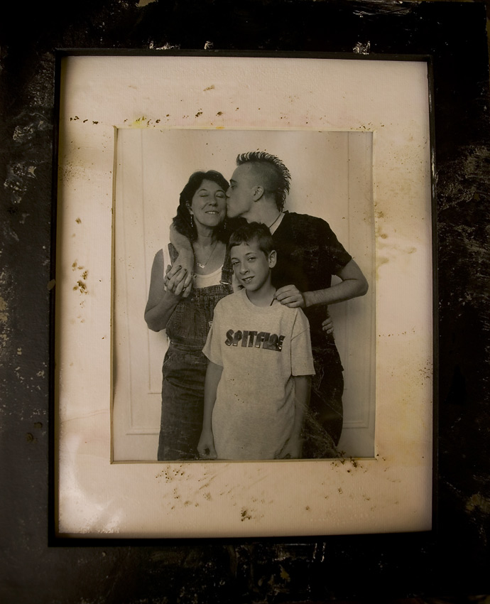Our family portrait survived 25 feet of storm surge, Pearlington, Mississippi