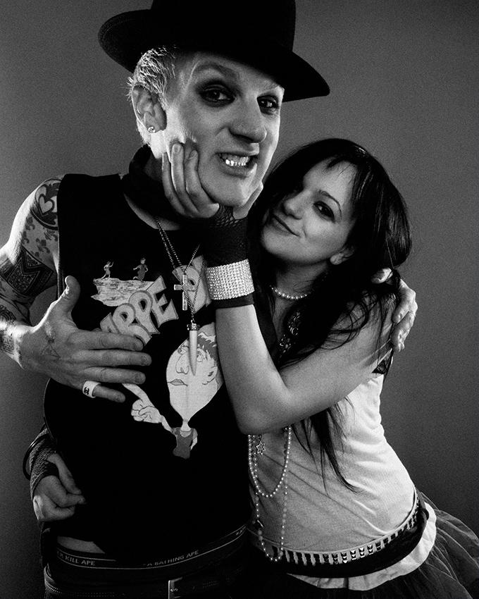 Josh Madden and Sarah Lewitinn (Ultragrrrl)