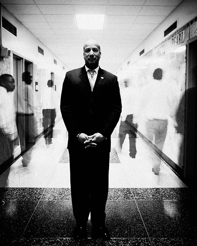 Ray Nagin, Mayor of New Orleans during Katrina, at City Hall.