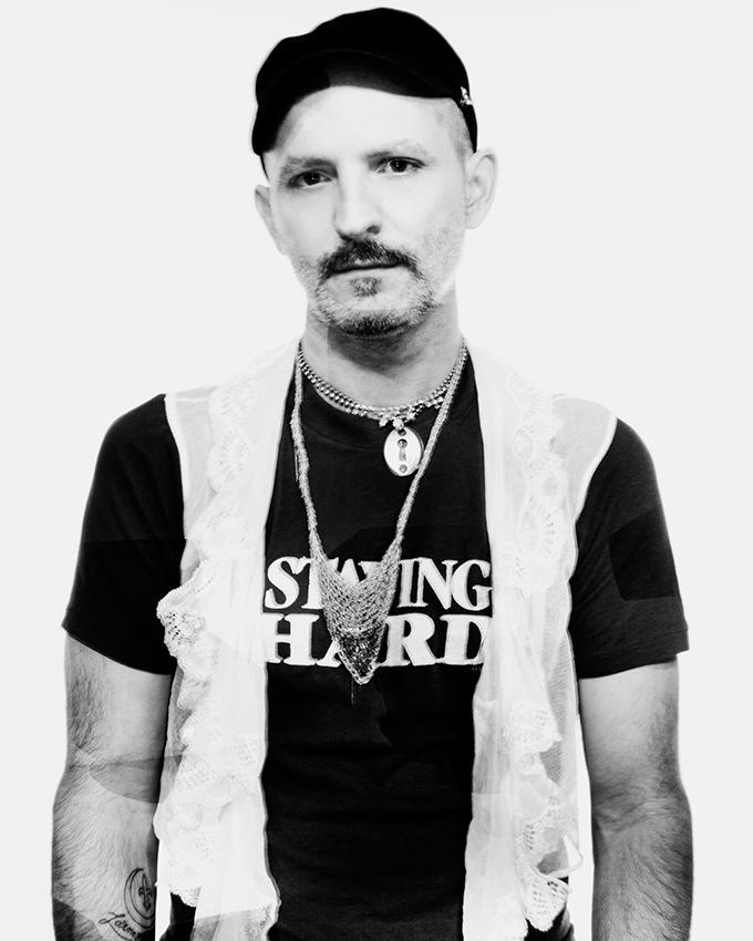 Rusty Lazer, drummer, DJ, arts organizer. New Orleans.
