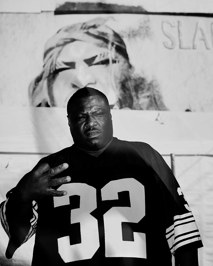 Big Slack, rapper. New Orleans.