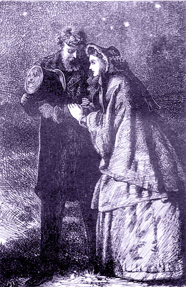 Stone, Marcus. With Estella After All. From the Garnett edition of Charles Dickens' Great Expectations. 1900. Scanned by Phillip V. Allingham. U.S. Public domain via Wikimedia Commons.