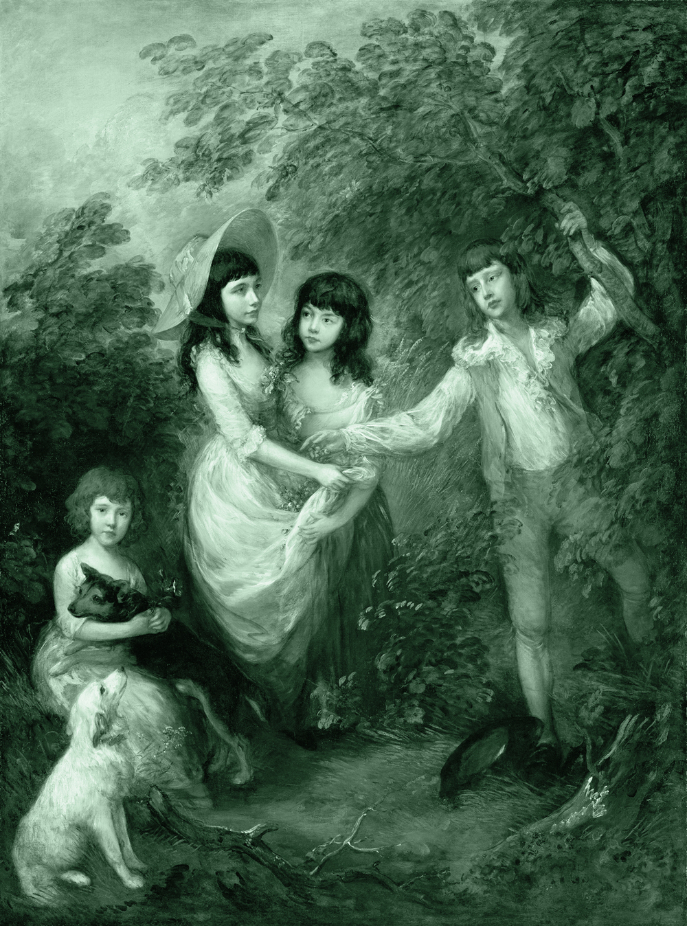 Gainsborough, Thomas. The Marsham Children. 1787. Public domain via Wikimedia Commons.