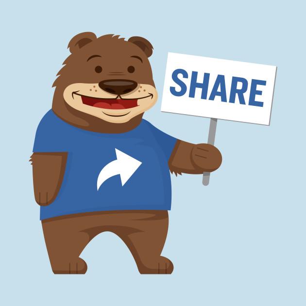 The Share Bear!