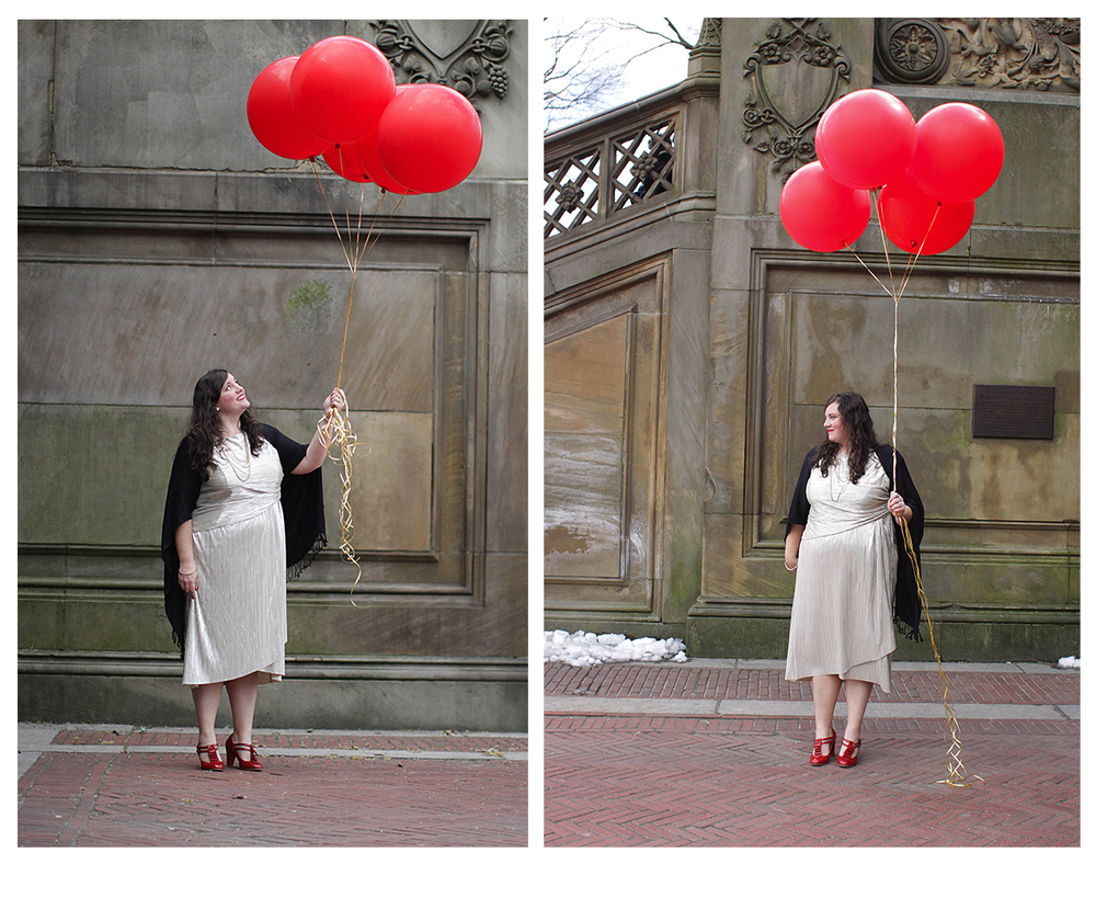 Central Park styled birthday session