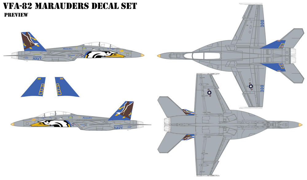 VFA-82 Marauders Decals