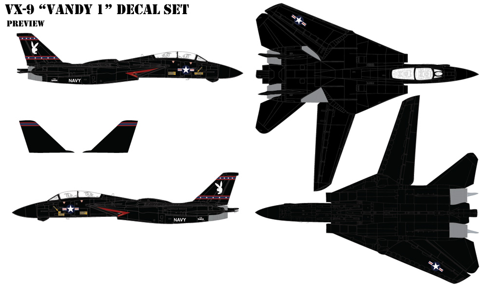 VX-9 Vandy 1 Decals