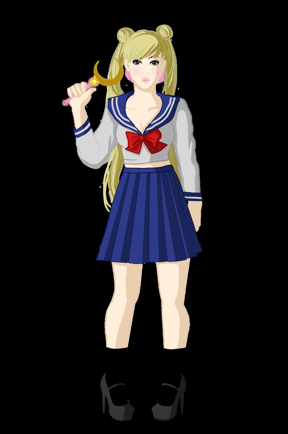 Usagi, from Sailor Moon