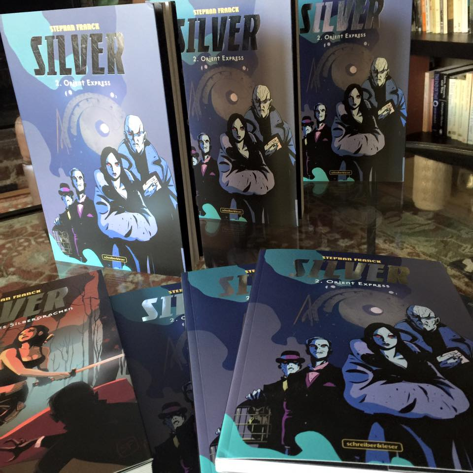 Silver Vol. 1 & 2, German edition
