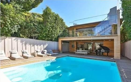 Pam Anderson's Malibu Home