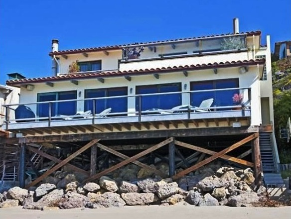 Cindy Crawford & Randy Gerber's Malibu Beach Front Home