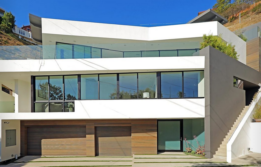 New To Market Modern Masterpiece In The Hollywood Hills Debbie - Hollywood-hills-architectural-masterpiece