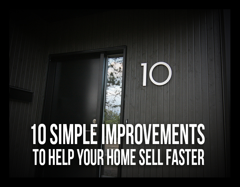 10 simple improvements to help your home sell faster debbie pisaro - How to sell a house quicker five tricks that help ...