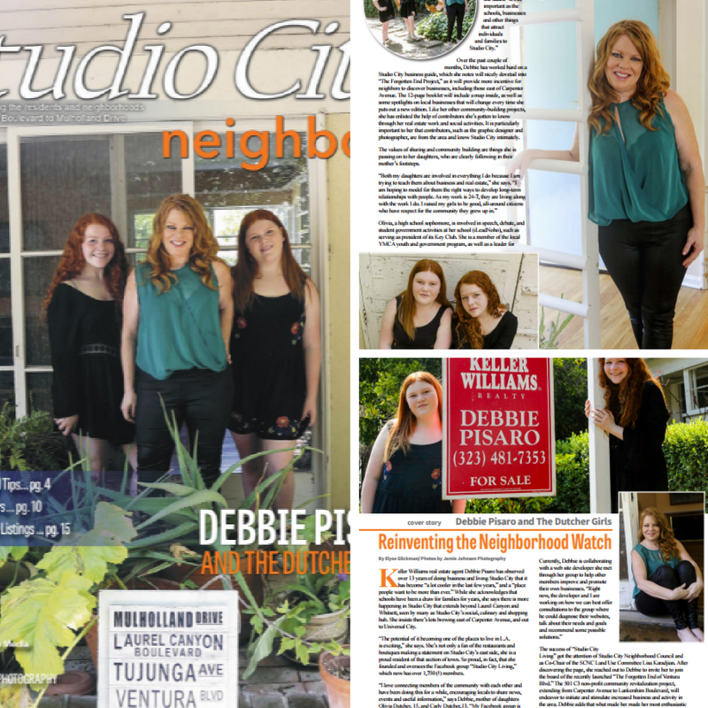 My Studio City neighbors cover story; 'Reinventing the Neighborhood'