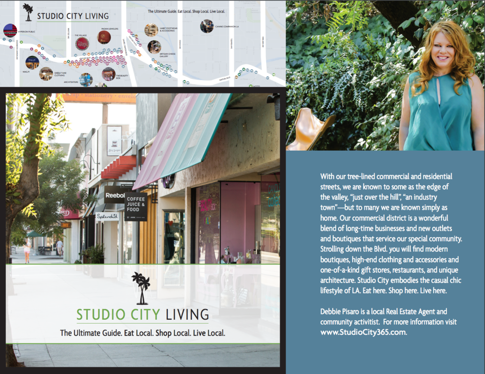 My Studio City Living guide, just published.  Ask me for a copy.