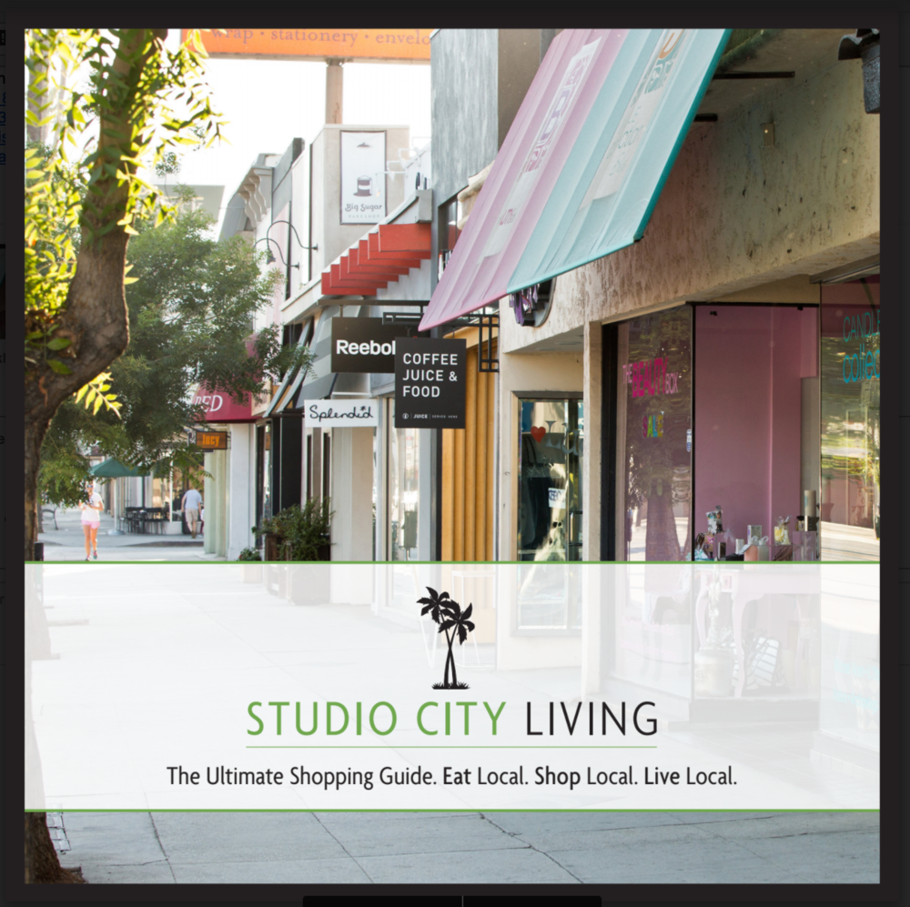 Studio City Guide is out - check you doorstep or message us for a copy.
