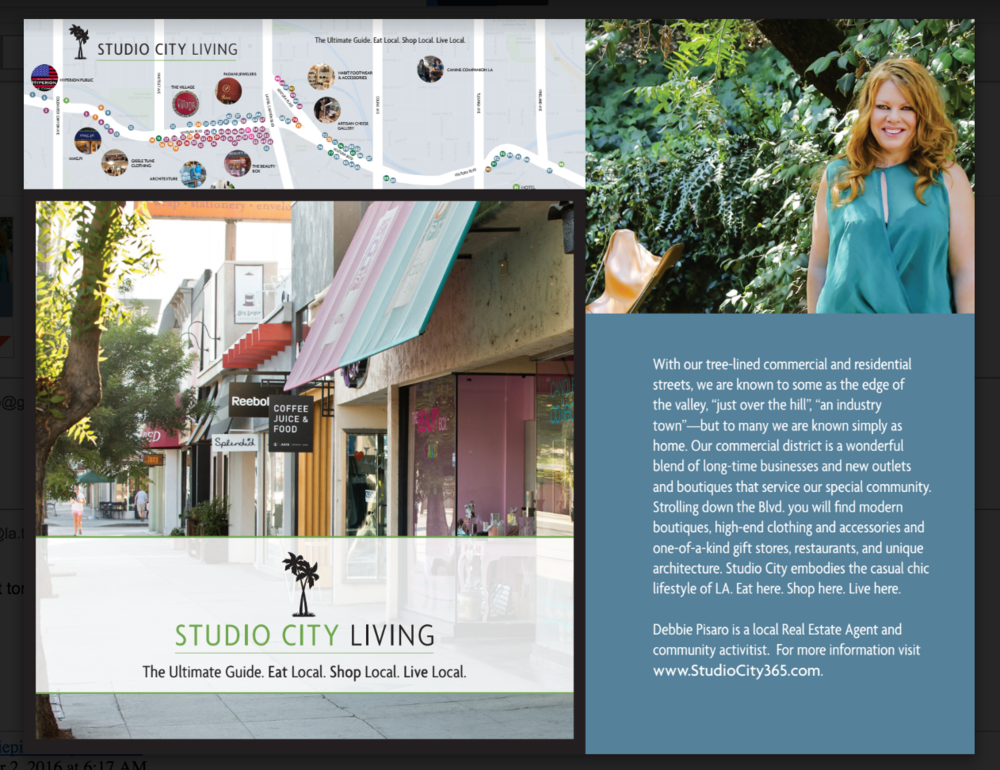 Studio City Living - you guide to our town - available everywhere.