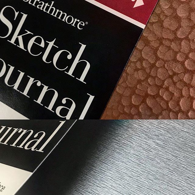 #newproduct. Loving these @strathmoreart sketch books! Cool as heck covers and a great price just in time for Christmas. . . . #artsupplies #artist #artmaterials #loveart #gallery #giftidea #sketchbooks #metallic #copper #awesomeness