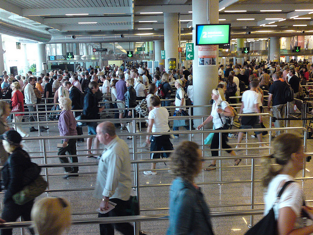 "Here's what happens as a result of security theater at the Orlando airport: You wait in line at least twenty minutes There's a scrum of pushing and shoving The staff are unhappy and not afraid to share it An unreasonable workload leads to fatigue and errors People miss their flights Here's what doesn't happen: Security is not increased Peace of mind is not enhanced In other words, we're paying a significant tax (time and money) and getting nothing in return. In fact, we get worse than nothing. We could call it an anxiety program, instead of a tax. (After all, when you pay a luxury tax, you get some hard-won luxury as part of the deal). The reason the TSA keeps changing the rules is not because the rules work, but because changing the rules creates more anxiety (for bad guys, they say, but for us too). via sethgodin.typepad.com Another great example of a horrible customer experience. Government is big and powerful. With all its might it imposes a set of regulations onto businesses to (try to) achieve a desired goal.  Three results of the current system: Unhappy employees: All the KPI's put in place are based on operational efficiency and effectiveness, the soft aspect of customer service and a personal connection with the customer/traveler is ignored. Staff is used as a cog in a system created to ""guarantee"" safety. By removing all possibility to express their own personality, ideas, and direction to the company they become disengages and unmotivated. Unhappy customers: First travelers stand in line to check in. They have had bad experiences in the past so at this point they have booked a ticket with an airline which they know make their trip as easy as possible, including in the check out line. Then they arrive at security. The line is long, half the people are impatiently waiting as they are about to miss their flight. The traveler goes through the extended process of taking of half their clothes and taking out their laptop from the bag etc. etc. They hear a bark that states: ""remove your belt sir"" and that is the only interaction with the TSA agent...if you're lucky. Unhappy government: Is there an increase in security? Is it worth the number of unhappy people? Airports are unwilling to change because of their monopoly. Especially in cities with one major airport, airlines and travelers have no choice but to use that single one. In environments with multiple larger airports you often see a bigger effort to differentiate through a better customer experience. What customer want is positive emotional cues, trust, and control. This can be done through proper communication, physical points of orientation, and much more. For a scattering of ideas check out the links below: Jamin - Service Design Applied to Airport Security. Engine Service Design - Case study for Terminal T5. Innotour - Service Design in Copenhagen Airport. Is your business imposed with regulations that make it difficult to create a great customer experience?"