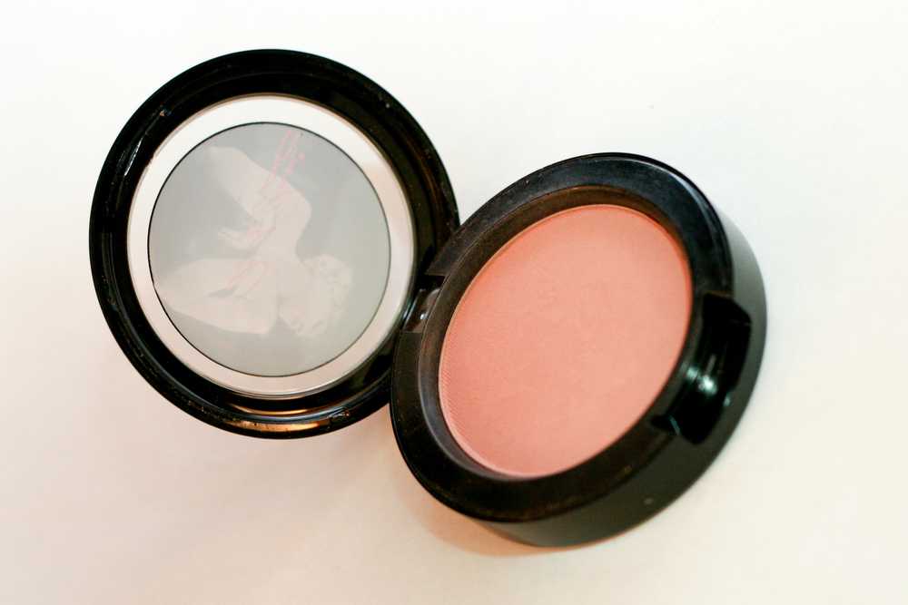 MAC blush in The Perfect Cheek, from the Marilyn Monroe collection (limited edition).
