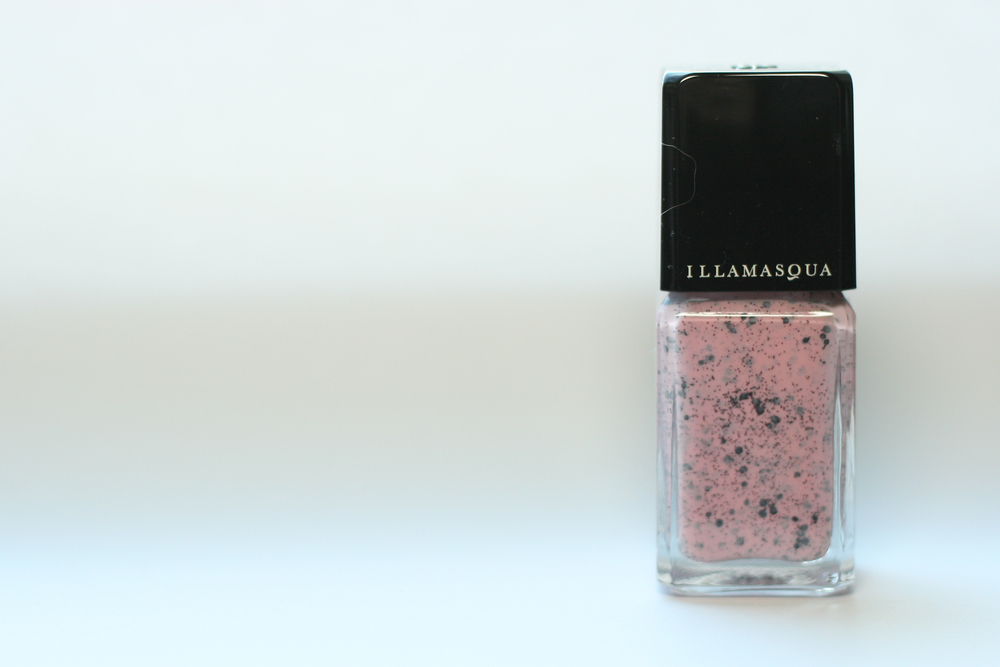 Illamasqua Speckled Nail Varnish in Scarce.